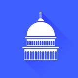 Capitol ikona ilustracja wektor