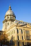 capitol Illinois Springfield stan Zdjęcie Royalty Free