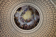 The Capitol - inside dome Stock Photos