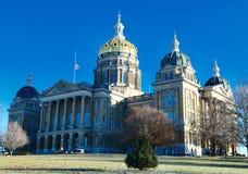 capitol Iowa stan obraz royalty free