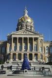 capitol Iowa stan Fotografia Royalty Free