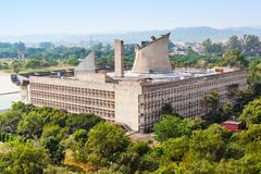 Capitol kompleks, Chandigarh fotografia royalty free