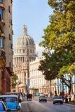 Capitol, La Havane Image libre de droits