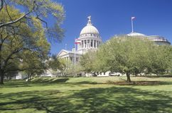 Capitol of Mississippi stock photos