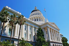 The capitol museum. California State Capitol Museum located at Sacramento, the capital of California state Stock Image