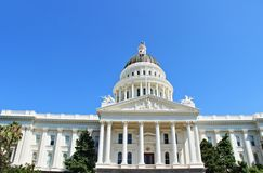 The Capitol Museum. California State Capitol Museum located at Sacramento, the capital of California state stock images