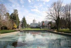 Capitol odbicia fotografia stock
