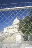 Capitol ograniczony dostęp fotografia stock