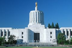 Capitol of Oregon Royalty Free Stock Photography