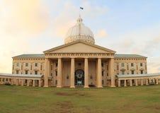 Capitol of Palau. On Malakal island during the sunrise royalty free stock photography
