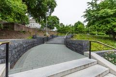 Capitol Park in downtown Harrisburg, pennsylvania.  Royalty Free Stock Photos