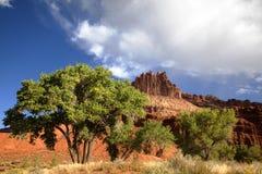 capitol park narodowy rafa Obraz Royalty Free