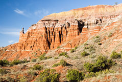 Capitol Peak in Palo Duro Canyon Royalty Free Stock Image