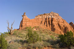 Capitol Peak in Palo Duro Canyon Royalty Free Stock Photo