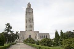 Capitol piacevole dello stato della Luisiana immagini stock libere da diritti