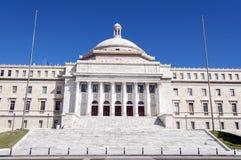capitol Puerto Rico Arkivfoton