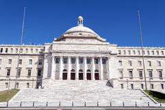 Capitol of Puerto Rico. Stock Photos
