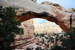 Capitol Rafowy park narodowy zdjęcia stock
