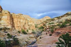 Capitol Rafowy park narodowy zdjęcie royalty free