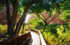 Capitol Rafowy park narodowy obrazy royalty free