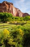 Capitol Rafowy park narodowy zdjęcie stock