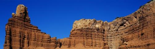 Capitol Rafowy park narodowy, Południowy Utah Obrazy Royalty Free