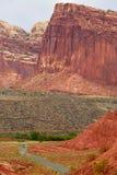 Capitol Rafowy park narodowy, UT, usa obrazy stock