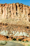 Capitol Rafowy park narodowy, Utah, niebieskie niebo Zdjęcia Stock