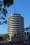 Capitol Records Building. The Capitol Records Building, also known as the Capitol Records Tower, Hollywood Boulevard Commercial and Entertainment District stock photography