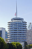 Capitol Records Building In The Heart Of Hollywood Royalty Free Stock Images