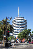 The Capitol Records Building Royalty Free Stock Image