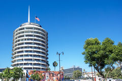 The Capitol Records Building Stock Photo