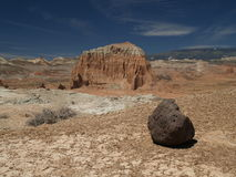 Capitol reef. Desert view in the desert, capitol reef national park Stock Image