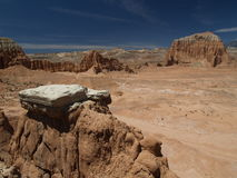 Capitol reef. Desert view in the desert, capitol reef national park Royalty Free Stock Image