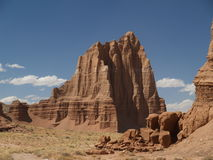 Capitol reef. Desert view in the desert, capitol reef national park Royalty Free Stock Images