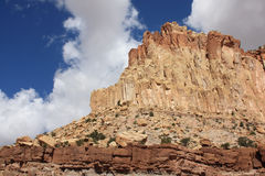 Capitol Reef National Park. Beautiful Utah - Capitol Reef National Park Royalty Free Stock Photos