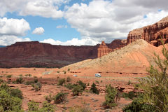 Capitol Reef National Park. Beautiful Utah - Capitol Reef National Park Stock Image