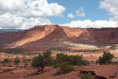 Capitol Reef National Park. Beautiful Utah - Landscape of Capitol Reef National Park Stock Photo