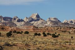 Capitol Reef National Park. Photo taken in November of 2009 of the waterpocket fold royalty free stock photography
