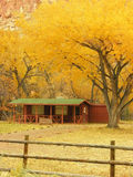 Capitol Reef National Park in a fall, Utah Stock Photography