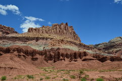 Capitol Reef national park Royalty Free Stock Image