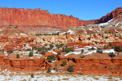 Capitol Reef National Park Utah Stock Image