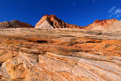 Capitol Reef Rocky Landscape Royalty Free Stock Photo