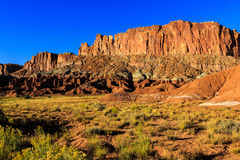 Capitol Reef at Sunset Royalty Free Stock Photos