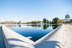 The Capitol Reflecting Pool Stock Photography