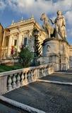capitol rome Royaltyfria Foton