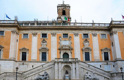 Capitol in Rome Stock Image
