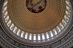 Capitol Rotunda. Beautiful interior shot of the United States Capitol Rotunda Royalty Free Stock Image
