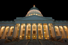 Capitol Salt Lake City Stock Photo