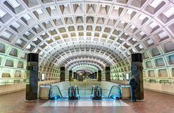 Free Capitol South Metro Station In Washington DC Stock Photography - 98214192